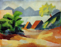 A.Macke, Am Thuner See I by AKG  Images