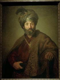 Rembrandt, Mann in oriental.Kostuem by AKG  Images