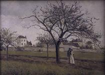 C.Pissarro, Das Haus von Pere Gallien by AKG  Images