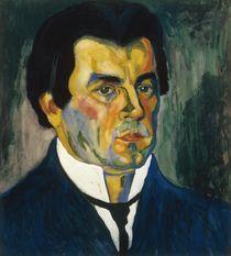 Kasimir Malewitsch, Selbstbildnis 1908 by AKG  Images
