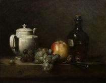 J.B.S.Chardin, Weisse Teekanne u.a. von AKG  Images