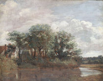 J.Constable, Das Haus von Willy Lott by AKG  Images