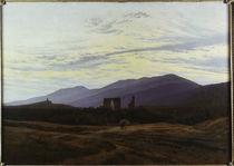 C.D.Friedrich,Ruine i.Riesengebirge/1815 by AKG  Images