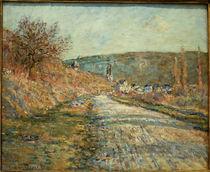 C.Monet, Die Strasse nach Vetheuil von AKG  Images