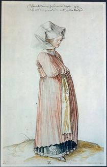 A.Duerer, Nuernbergerin im Kirchenkleid von AKG  Images