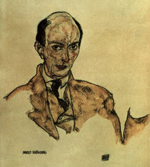 Arnold Schoenberg / Zng.v.Schiele by AKG  Images