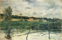 Gauguin, Landschaft in der Bretagne/1879 by AKG  Images