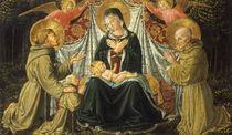B.Gozzoli, Maria mit Kind u.Heiligen von AKG  Images