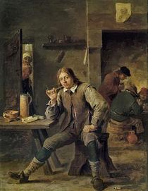 David Teniers d.J., Der Raucher by AKG  Images