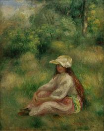 A.Renoir, Rosa gekleidetes Maedchen von AKG  Images