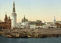 Moskau, Kreml / Photochrom um 1900 von AKG  Images