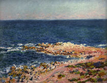 C.Monet, Die Grande Bleue in Antibes von AKG  Images