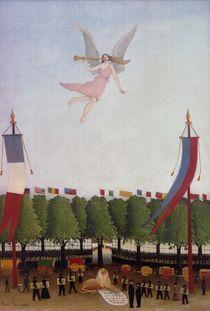 H.Rousseau, Freiheit laedt Kuenstler ein by AKG  Images