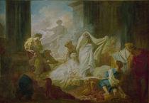 J.H.Fragonard, Koresos und Kallirhoe by AKG  Images
