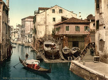 Venedig, Rio della Botisella /Photochrom by AKG  Images