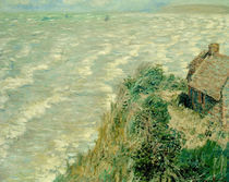 Claude Monet, Flut bei Pourville by AKG  Images