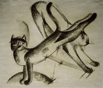 Franz Marc, Spielende Katzen by AKG  Images