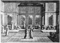 W.Hogarth, Ansicht eines tuerk. Salons by AKG  Images