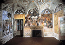 Mantua, Camera degli Sposi, Nordwand by AKG  Images