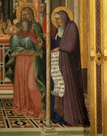 A.Lorenzetti, Darstellung,Simeon u.Hanna von AKG  Images