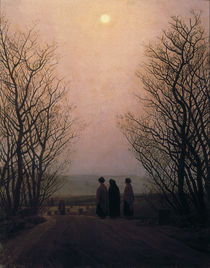 C.D.Friedrich, Ostermorgen / Gem.um 1835 von AKG  Images