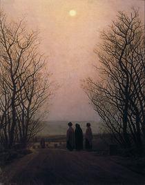 C.D.Friedrich, Ostermorgen / Gem.um 1835 by AKG  Images