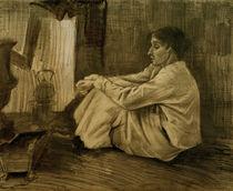 V.van Gogh, Eine sitzende Frau beim Ofen von AKG  Images