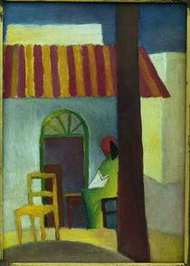 August Macke, Tuerkisches Cafe I by AKG  Images