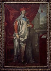 Kardinal Richelieu / Gem. v. Champaigne von AKG  Images