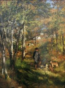 A.Renoir, Der Maler Jules Le Coeur von AKG  Images