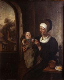 Jan Steen/ Mutter und Kind/Fruehwerk von AKG  Images