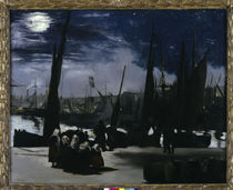 Edouard Manet, Mondlicht, Boulogne by AKG  Images