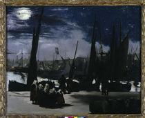 Edouard Manet, Mondlicht, Boulogne von AKG  Images