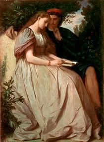 Feuerbach/Paolo und Francesca/Gem.1864 von AKG  Images