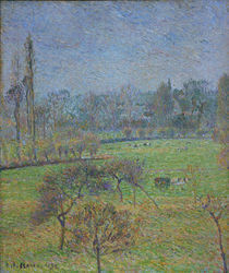 C.Pissarro, Morgen, Herbst, Eragny by AKG  Images