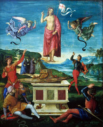 Raffael, Auferstehung Christi von AKG  Images