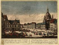 Dresden, Neumarkt / Probst n.Bellotto by AKG  Images