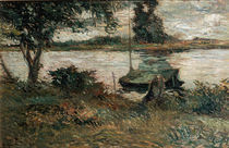 Gauguin, Flussufer/ 1881 by AKG  Images