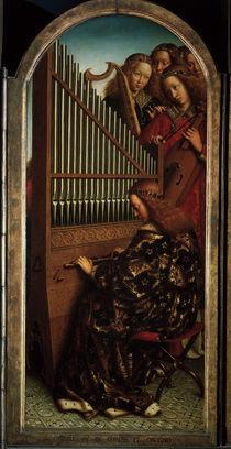 Engelskonzert / Genter Altar/v.Eyck 1432 by AKG  Images