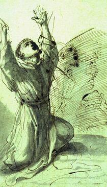 Guercino, Hl.Franziskus by AKG  Images