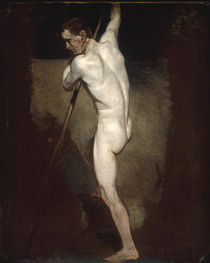 J.Constable, Aktstudie stehender Mann by AKG  Images