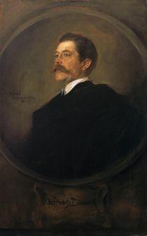 Herbert von Bismarck / Gem.v.Lenbach by AKG  Images