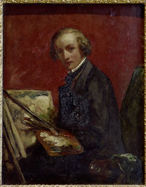 John Everett Millais / Selbstportraet by AKG  Images