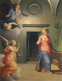 A.Bronzino, Verkuendigung an Maria by AKG  Images