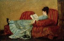 M.Cassatt, Junge Frau, lesend von AKG  Images