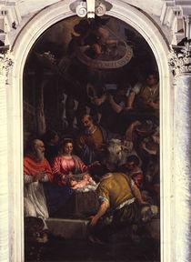 Veronese, Anbetung der Hirten by AKG  Images