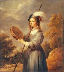 D.Teniers d.J., Die Hirtin by AKG  Images