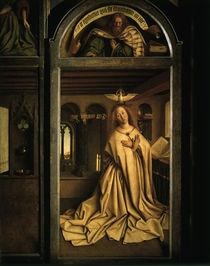 Jan v.Eyck, Genter Altar, Maria / 1432 by AKG  Images