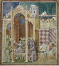 Giotto, Franziskus erscheint Augustinus von AKG  Images