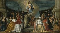P.Veronese, Rosenkranzmadonna von AKG  Images